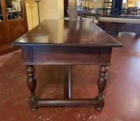 A Writing Desk With Turned Legs - Netherlands-19th Century (4 of 12)