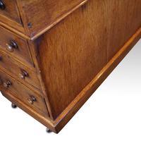 Victorian Oak Partners Desk (12 of 12)
