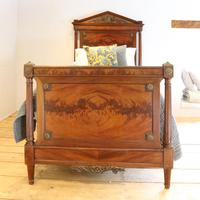 French Empire Style Mahogany Antique Bed (2 of 7)