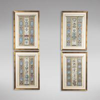 Set of Four Studies of Raphael Frescoes