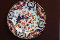 Fabulous Royal Crown Derby Bone China Scalloped Plate c.1890 (2 of 8)