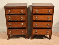 Pair of 19th Century Mahogany Chest of Drawers (3 of 6)