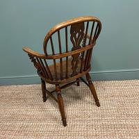 Stunning Country House Elm & Ash Antique Windsor Chair (5 of 7)