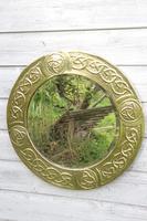 Arts & Crafts Movement Scottish / Glasgow School Circular Wall Mirror c.1900 (16 of 24)