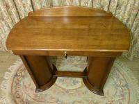 Art Deco Side Table / Desk (4 of 8)