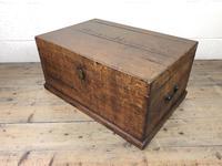 19th Century Oak Box Belonging to Henry Hanmer MP (12 of 16)