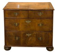 Victorian Mahogany 3 Draw Chest of Drawers (3 of 8)