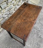 Antique Georgian Oak Side Table (11 of 14)