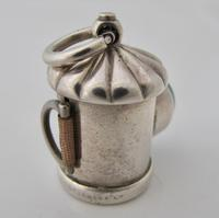 Victorian silver novelty lantern tape measure, Henry William Dee London1874 (6 of 7)