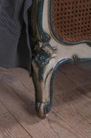 Art Nouveau Style French Caned / Bergere King Size Bed (3 of 9)