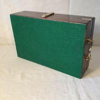 Antique Victorian Campaign Collectors Box (5 of 6)