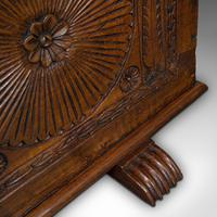 Large Antique Coffer, Italian, Walnut, Sword Chest, Linen Trunk, 18th Century (12 of 12)