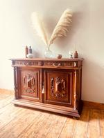 French Antique Sideboard / Buffet / French Walnut Buffet (3 of 10)