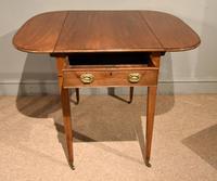 George III Mahogany Pembroke Table Drawer (3 of 6)