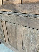 Wonderful French Empire Period Bleached Oak Linen Press (26 of 32)