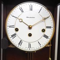 Perfect Vintage Musical Dual Chime Westminster Chiming Wall Clock 8-day Mahogany Case (10 of 12)
