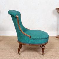 Tub Chair 19th Century Carved Mahogany (4 of 8)