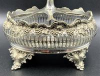 Fabulous Quality 19thc Victorian Silver Plated Cruet Set Inc 5 Cut Glass Bottles (11 of 12)