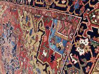 Antique Heriz Carpet 3.20m x 2.37m (5 of 10)