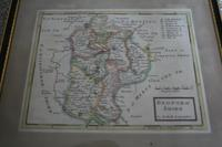 Original Map of Bedfordshire by Herman Moll (2 of 4)