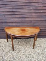 George III 'd' End Console Table