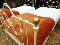 Pretty Pair of Victorian Large Single Beds Seventh Heaven (5 of 11)