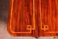 Pembroke Table In Mahogany & Inlay 19th Century - England (13 of 16)