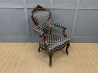Pair of 19th Century French Rosewood Armchairs (12 of 16)