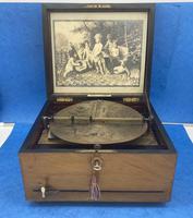 Victorian  Walnut Symphonian Music Box (22 of 22)