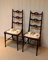 Pair of Beechwood Art Nouveau Chairs (5 of 10)