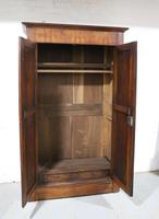 Late 19th Century French Cherrywood Wardrobe (3 of 10)