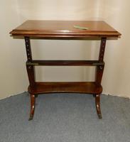 Regency Mahogany Architect's Table (3 of 7)
