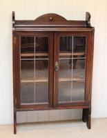 Oak Glazed Bookcase (8 of 10)