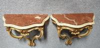 Good Pair of French Parcel Gilt Console Tables (2 of 12)
