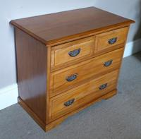 Satin Walnut Chest of Drawers (6 of 6)