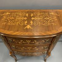 French Marquetry Demi Lune Commode (3 of 7)