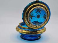 Antique 19th Century Moser Glass Enamel Box (9 of 11)
