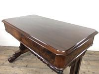 Antique William IV Mahogany Side Table (2 of 16)
