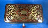 Victorian French Tortoiseshell Twin Canister Tea Caddy (17 of 17)
