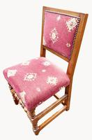 Fabulous Set of Eight Cherrywood Dining Chairs (6 of 8)