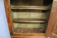 Late 17thC Oak Hanging Wall Cupboard. Mural or Spice Cabinet (7 of 17)
