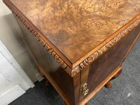 Pair of Burr Walnut Queen Anne Bedside Cupboards (15 of 15)