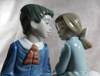 """Primer Amor"" or ""First Love"" Hand Modelled Porcelain Figure by Nao (9 of 9)"