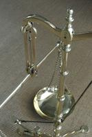 Fine Large 19th Century Brass Beam Scales Jewellers Gold Bank Scales Doyle & Son (12 of 12)