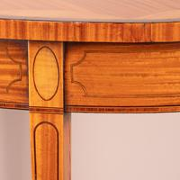 Inlaid Oval Satinwood Occasional Table (14 of 15)