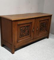 Art Nouveau Golden Oak Sideboard (6 of 6)
