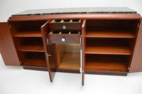 1920's French Art Deco Rosewood & Marble Sideboard (9 of 13)
