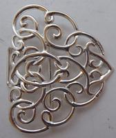 Edwardian Chester 1901 Hallmarked Solid Silver Nurses Belt Buckle Rare (4 of 6)