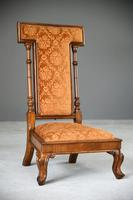 Victorian Walnut Occasional Chair (3 of 11)