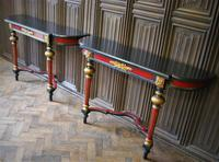 Painted French Console Tables (3 of 7)